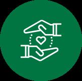 Symbol für Demenz Tagespflege und Betreuung
