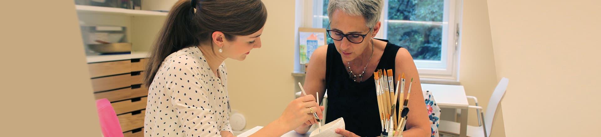 Betreuung eines an Demenz erkrankten Patienten in unserer Tagesklinik in München